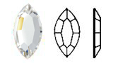 2200 Swarovski FLAT BACK NO HOTFIX