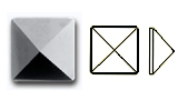 2415 Swarovski FLAT BACK NO HOTFIX
